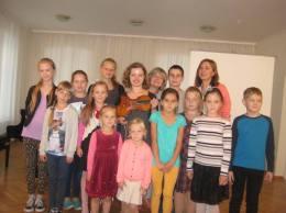 Tukums Music school masterclass, Latvia, 2015.