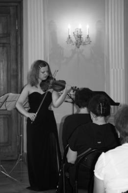 Recital at Durbe Manor, Latvia, 2016.