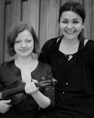 Dordrecht, the Netherlands, 2013, with pianist Ioana Ionescu.