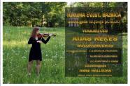 Poster for recital at Tukums Ev. Lutheran church, 2008.