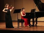 With pianist Anna Arazi. Thai Performance Center, Boston, USA, 2016.