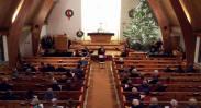 St. John's Latvian Church, Toronto, Canada. December, 2017.