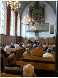 """Delft, the Netherlands. With Bas de Vroome at the """"Organ Days of Delft"""", 2013."""