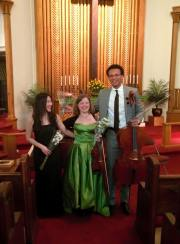 After recital in Yonkers, New York, USA, 2016.