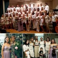 With Boston Latvian choir, Boston, 2016, USA.