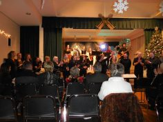 After a concert with Boston Latvian community musicians, USA, 2015.