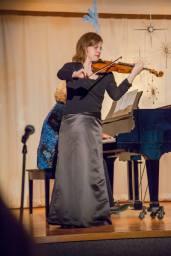 Boston Latvian Church, Boston, USA, 2013. Ingrid Gutberg, piano.