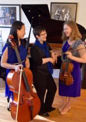 Theia Piano Trio, Boton, USA, 2016.